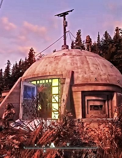 Image of Punji Bunker Camp from Fallout 76 game.