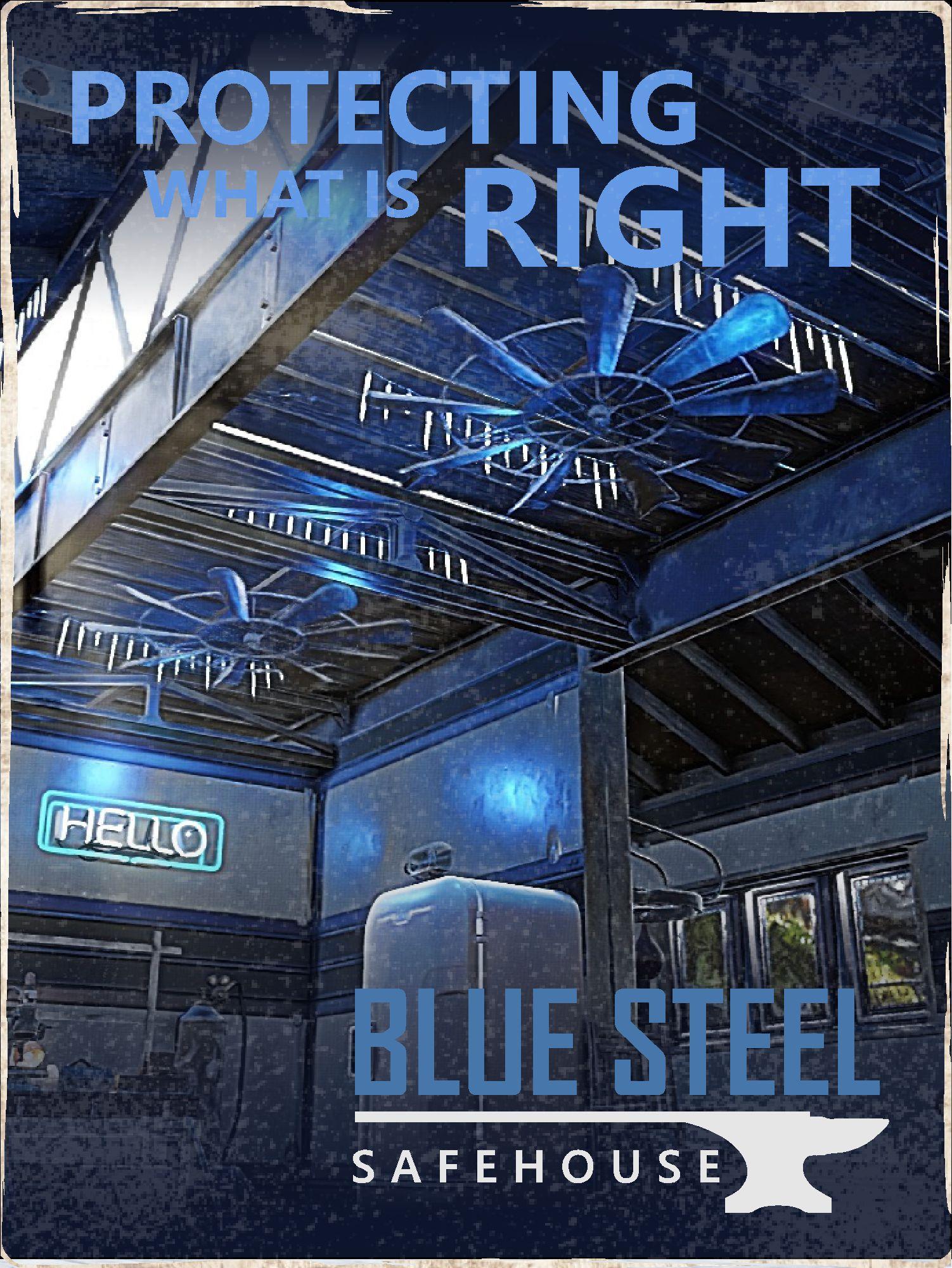 Blue Steel Safehouse